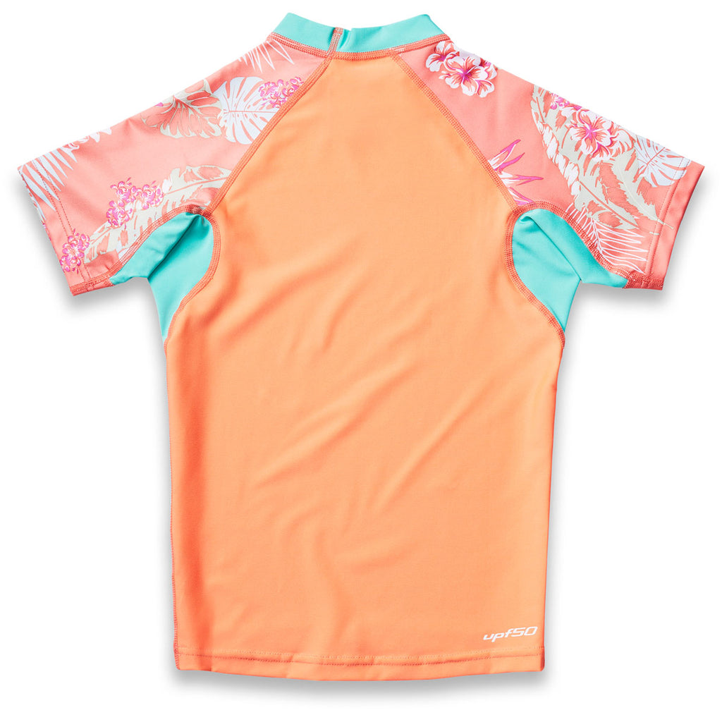 Dakine Girl's Classic Snug Fit Short Sleeve Rash Guard - Sun 'N Fun Specialty Sports