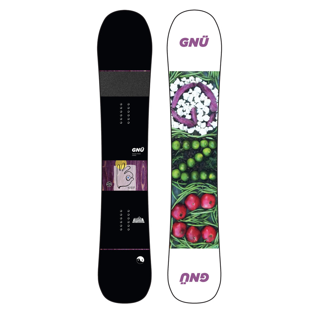GNU Men's Mullair Snowboard 2020 - Sun 'N Fun Specialty Sports