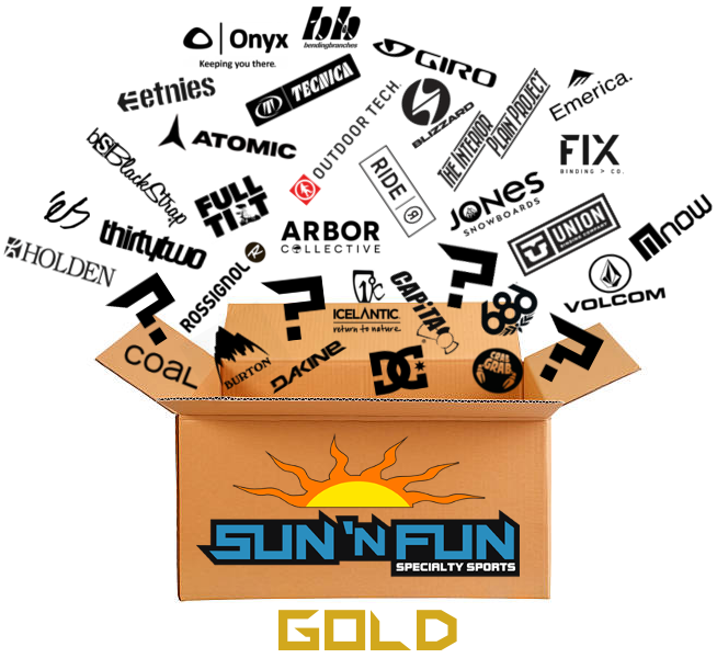 Gold Box - 3 Month - Sun 'N Fun Specialty Sports
