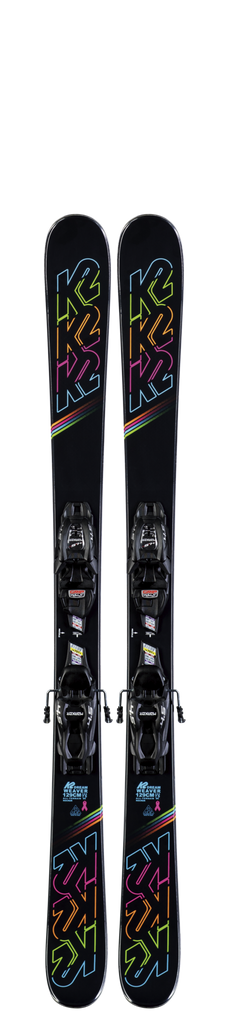 K2 Youth Dreamweaver Skis W/ FDT Jr 7.0 Bindings 2020 - Sun 'N Fun Specialty Sports