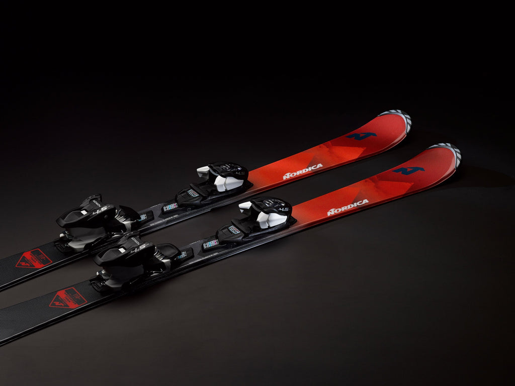 Nordica Youth Navigator Team System Skis W/ M4.5 FDT Bindings 2020 - Sun 'N Fun Specialty Sports