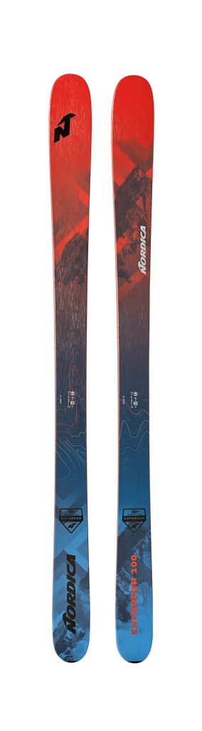 Nordica Men's Enforcer 100 Skis 2020 - Sun 'N Fun Specialty Sports