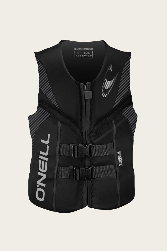 O'Neill Men's Reactor Full Zip USCG Life Vest 2020