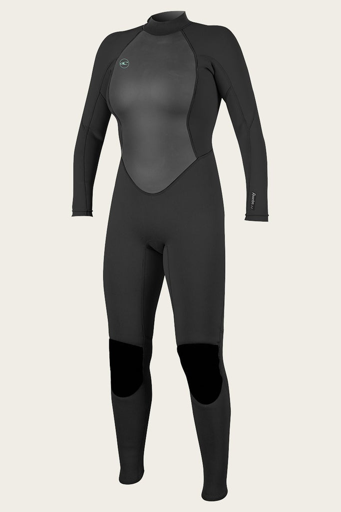 O'Neill Women's Reator II 3/2MM Back Zip Full Wetsuit 2020