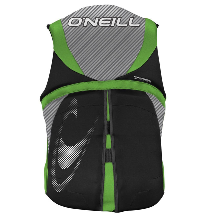 O'Neill Men's Reactor Full Zip USCG Life Vest 2019 - Sun 'N Fun Specialty Sports