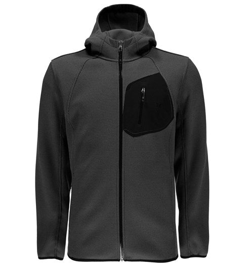 Spyder Men's Paramount Full Zip Mid Weight Hood Stryke Jacket - Sun 'N Fun Specialty Sports