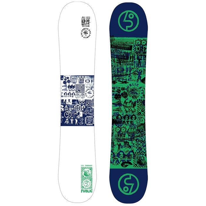 Public Snowboards Therapy Sexton Snowboard 2020 - Sun 'N Fun Specialty Sports