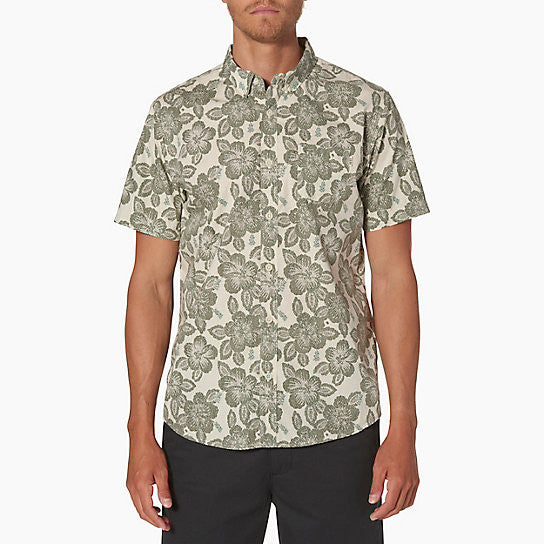 Reef Mens Malifloral Short Sleeve Shirt - Sun 'N Fun Specialty Sports