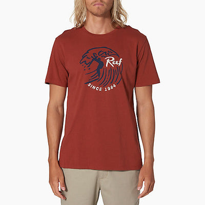 Reef Mens Tube Crew T-Shirt - Sun 'N Fun Specialty Sports