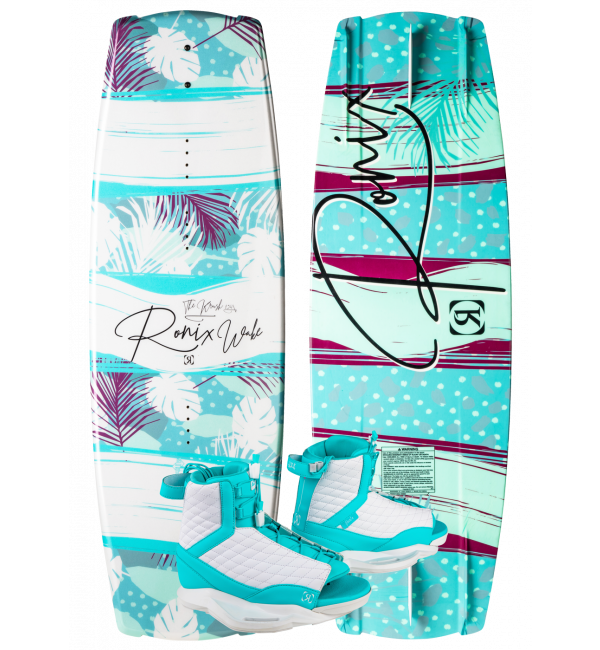 Ronix Krush Wakeboard w/ Luxe Boot Package 2020