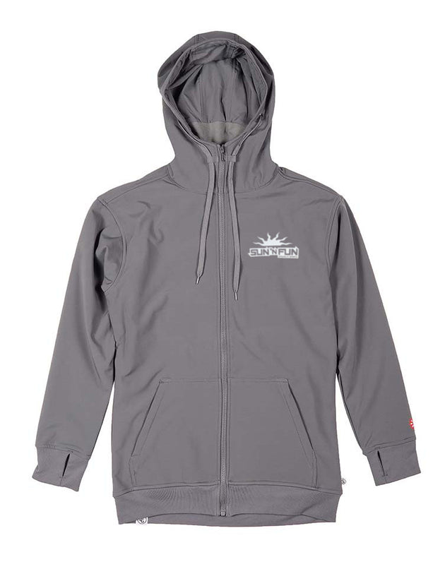 CG Habitats Sun 'N Fun Tech Zip Hoodie - Sun 'N Fun Specialty Sports