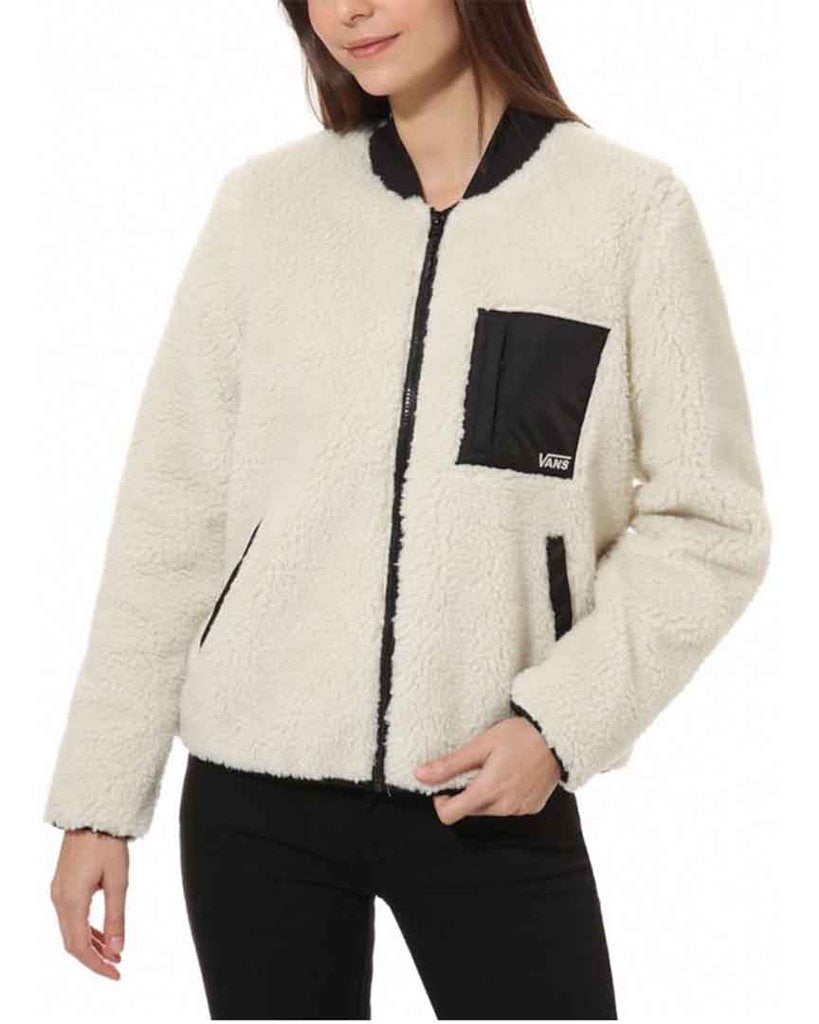 Vans Women's Misty Fog Sherpa Jacket 2020 - Sun 'N Fun Specialty Sports