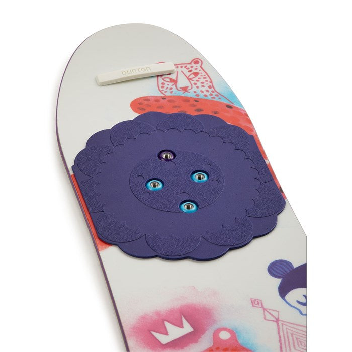 Burton Girl's Chicklet Flat Top Snowboard 2020 - Sun 'N Fun Specialty Sports