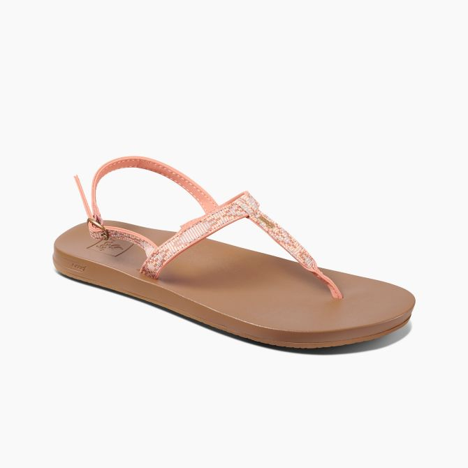 Reef Women's Cushion Bounce Slim T Sandals 2019