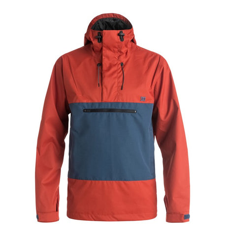 DC Men's Rampart Snow Windbreaker
