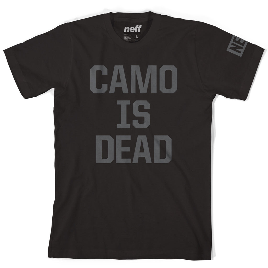 Neff Men's Camo Is Dead T-Shirt - Sun 'N Fun Specialty Sports