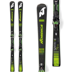 Nordica Men's DOBERMANN SPITFIRE 76 RB With FDT+XCELL 12 FDT Binding - Sun 'N Fun Specialty Sports