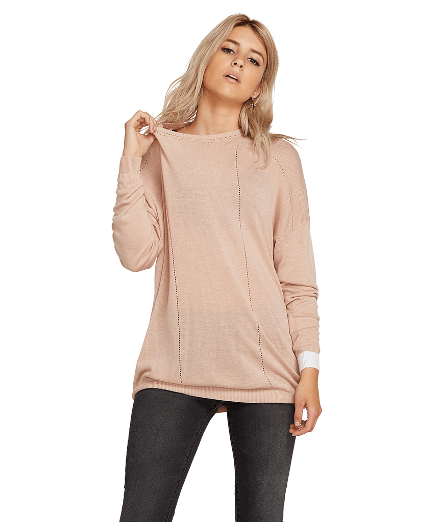 Volcom Women's Simply Stone Long Sleeve Knit 2019