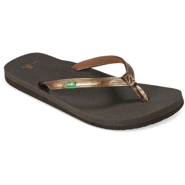Sanuk Women's Yoga Joy Metallic Sandals - Sun 'N Fun Specialty Sports