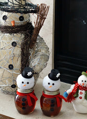 Don Victor Honeys - How to make a snowman honey jar