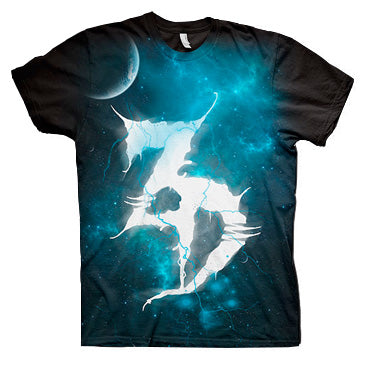 LTD ED - ZD Space Tee - Blue