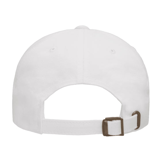 ZD - DEADBEATS Logo Dad Hat - White