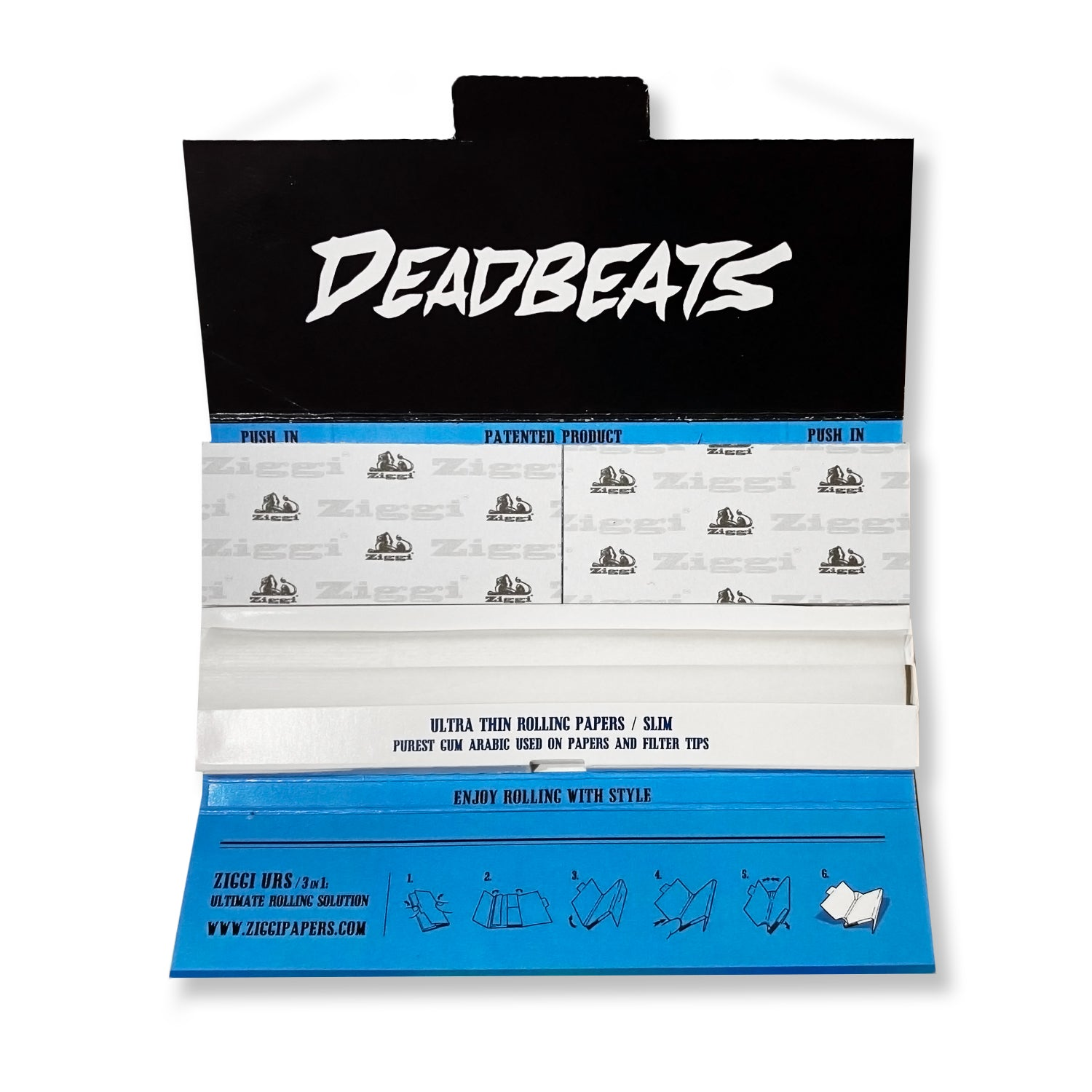 ZD - Deadbeats - Premium Rolling Papers - Edition #1