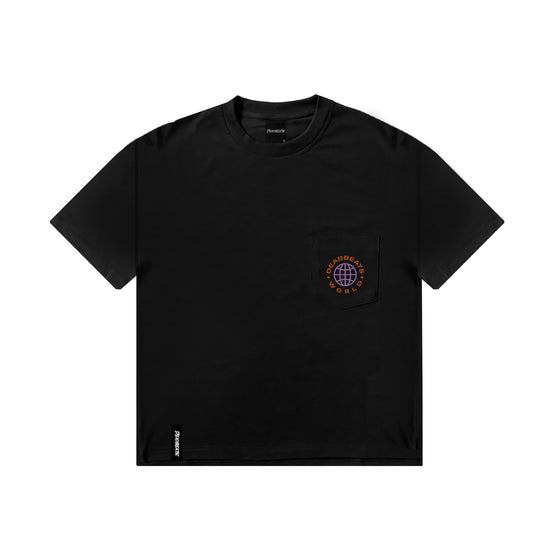 Deadbeats - Premium Oversized Crew Neck Pocket Tee