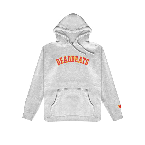 Deadbeats - Premium Athletic Gray Hoodie