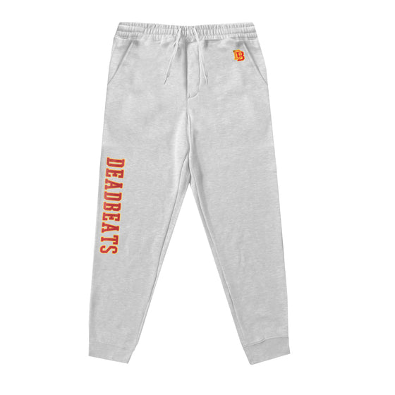 Deadbeats - Premium Athletic Gray Joggers