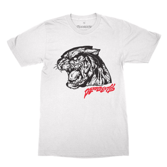 Deadbeats - Bobcat - White Tee