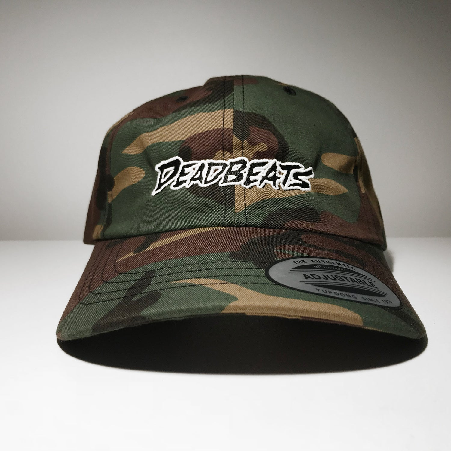 ZD - DEADBEATS - Logo - Camo Dad Hat