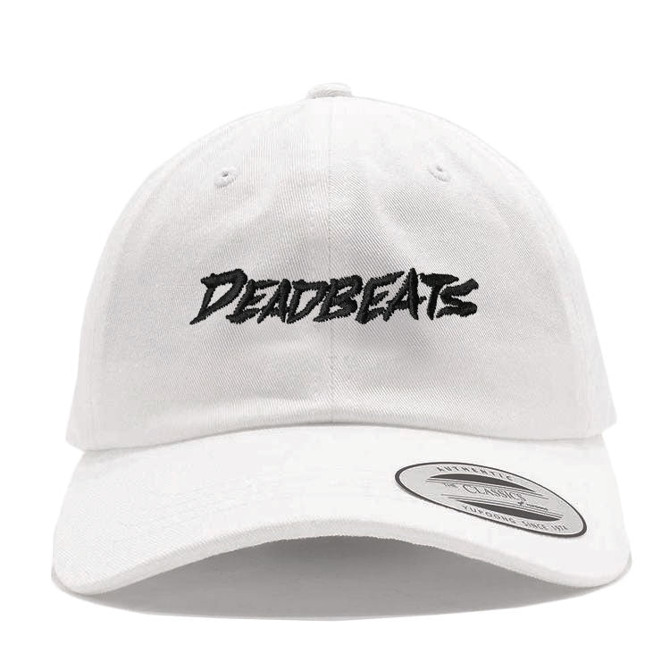 ZD - DEADBEATS Dad Hat - White