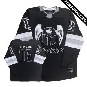 PRE ORDER - PERSONALIZED - Deadbeats Hockey Jersey