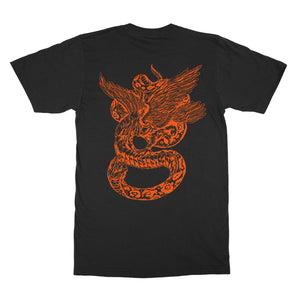 Deadbeats - Snake  - Black Tee