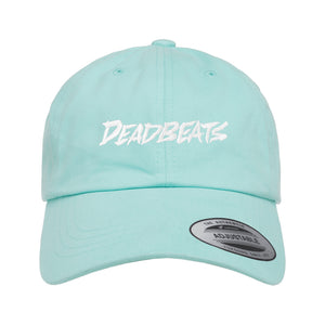 ZD - DEADBEATS -Label Logo- Diamond Blue Dad Hat