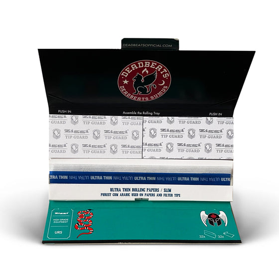 ZD - Deadbeats - Premium Rolling Papers - Edition #2
