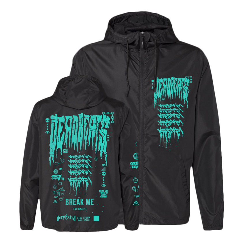 PRE ORDER - Limited Edition - VERY EXTRA x Deadbeats - Lightweight Windbreaker Jacket