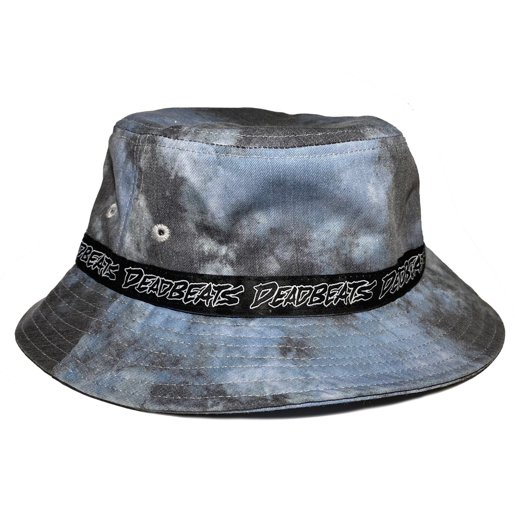 Deadbeats - Bucket Hat - Denim Blue Tie Dye