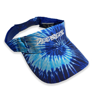 ZD - DEADBEATS -Label Logo- Tie Dye Visor