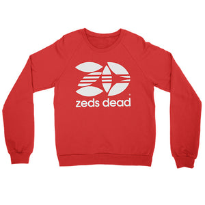 ZD -Zedidas- Red Crewneck Sweatshirt
