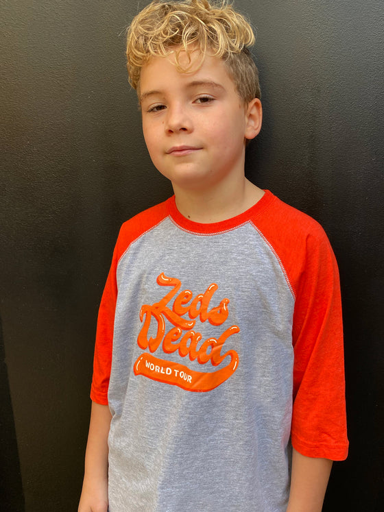 Zeds Kidz - World Tour - Youth Raglan