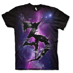 LTD ED - ZD Space Tee - Purple