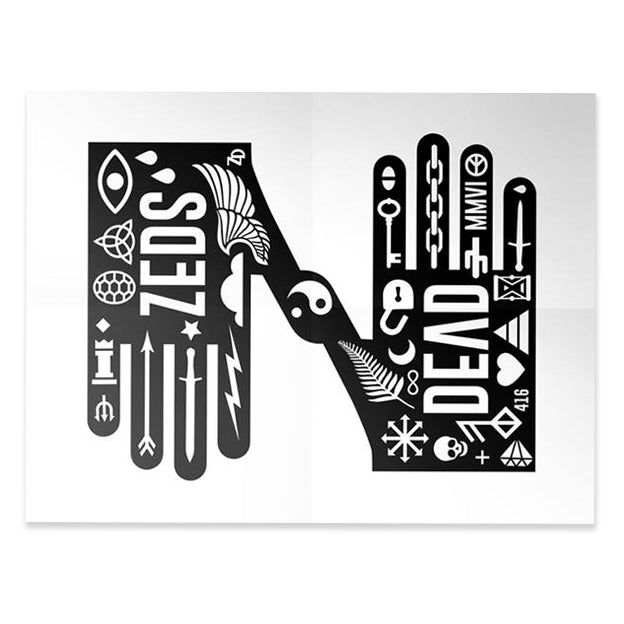 ZD - Icon Hands Ltd. Ed. Litho Print