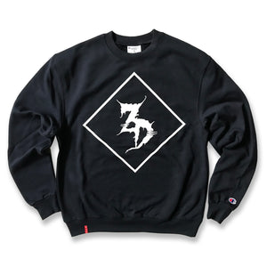ZD - 4 Corners - Champion Navy Blue Crewneck Sweater