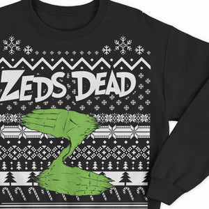 PRE ORDER - ZD - 2018 Holiday Jumper - Black