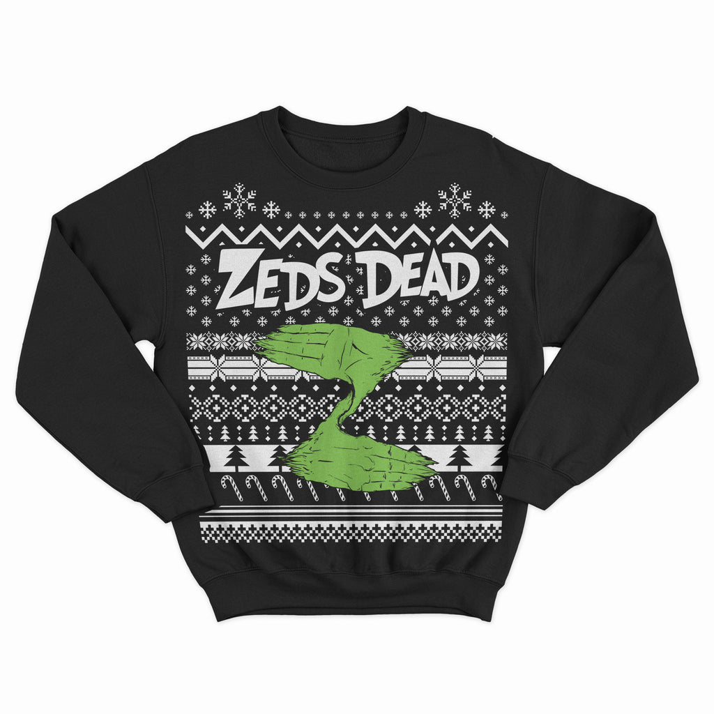 ZD - 2018 Holiday Jumper - Black