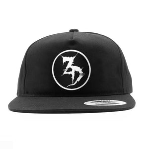 ZD - Circle Logo Unstructured Snapback Hat