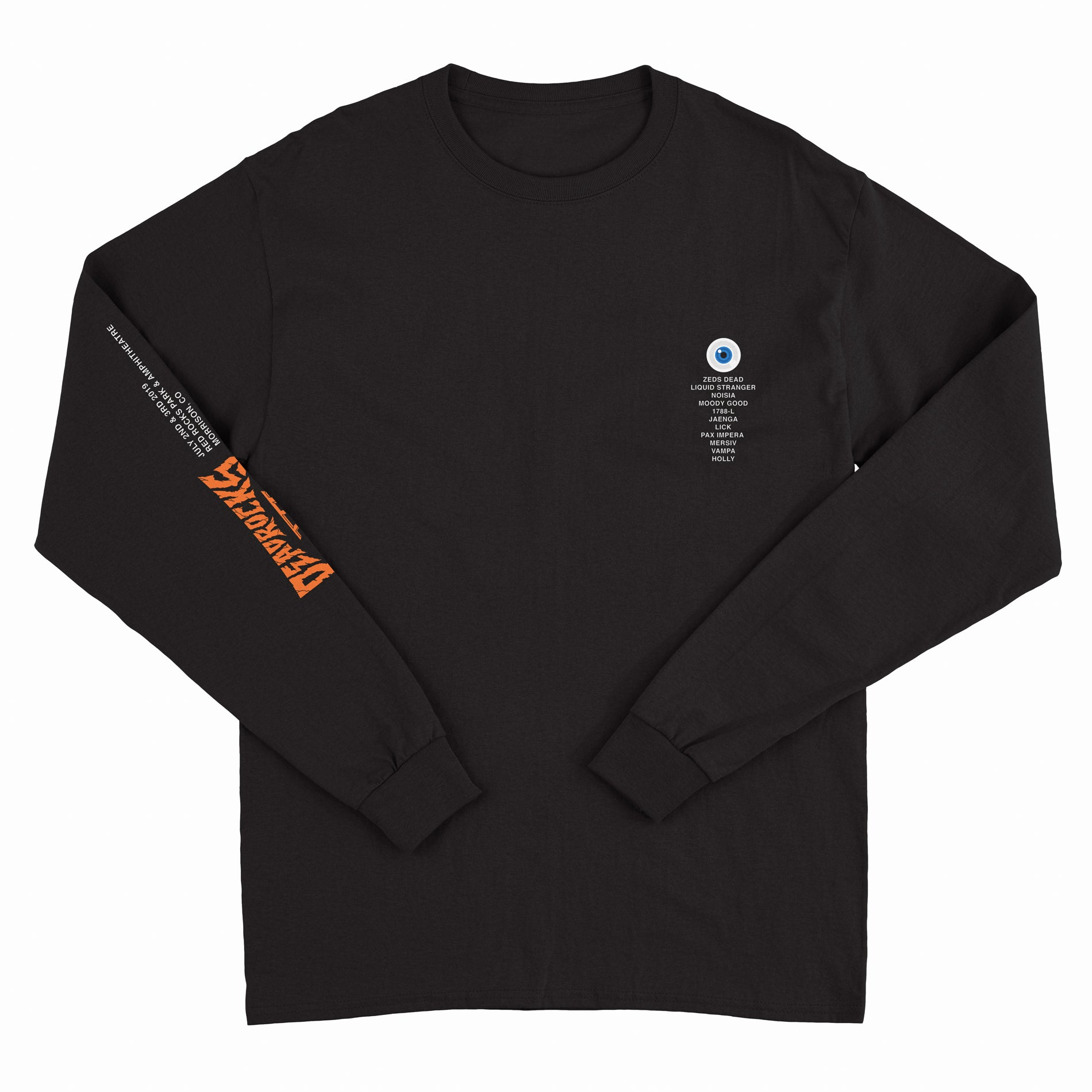 ZD - Deadrocks VI - Eyeball - Black Long Sleeve