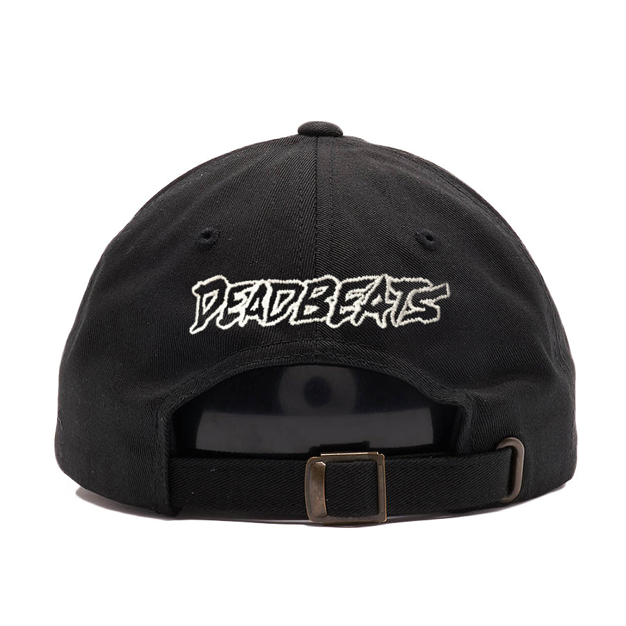 ZD - DEADBEATS - Rose - Black Dad Hat